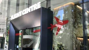 Flight Centre's headquarters in Grey Street, South Brisbane.