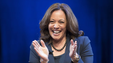 Harris is a former California attorney-general and the daughter of Jamaican and Indian parents.