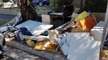 Sydney has experienced a spike in the illegal dumping of rubbish during the coronavirus lockdown.