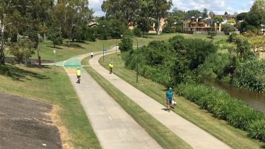 The Kedron Brook Bikeway in Brisbane's north has been particularly popular.