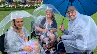 When Oaks Day becomes Soaks Day