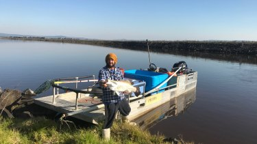 Barramundi were recently released into the pondage once the power station was decommissioned.