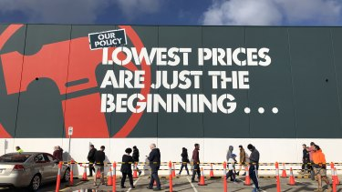 Measures such as limiting the number of shoppers allowed inside stores will continue for some time, Wesfarmers warns.