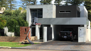 Andrew Donnelly's Cottesloe house is now the subject of a mortgage repossession claim by Macquarie Bank.