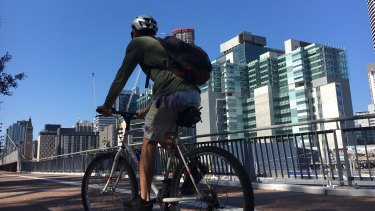 Cycling became a key active transport method in Brisbane last year.