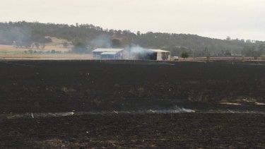 Devastation in Sarsfield.