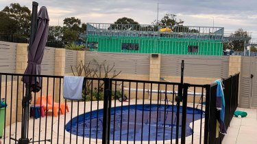 Bittern Street neighbours say McDonald's patrons will be able to look into their backyards and pools.