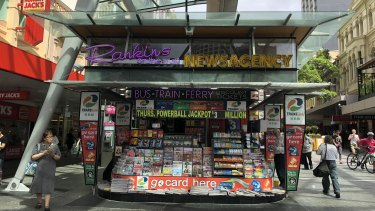 Rankins on the Mall newsagent has been operating for 35 years.