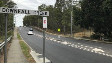 Rode Road bushland at Chermside opposite Downfall Creek Bushland Centre.