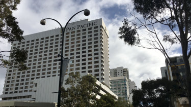 The Pan Pacific in Perth.