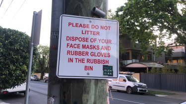 New signs in the City of Glen Eira.