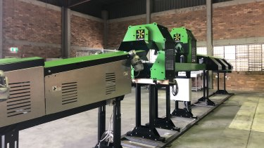 This machine used at Return-It depots can sort 200 containers a minute.
