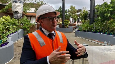 Westfield WA Regional Manager Chris Barton on Westfield Carousel's rooftop dining and entertainment precinct.