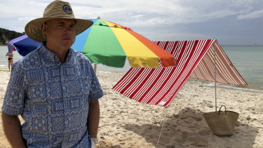 Rowan Clark is the founder of Beachkit which sells beach shades and umbrellas.