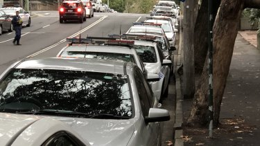 Police have exclusive parking access along a stretch of Riley Street and Goulburn Street, as well as secure underground and outdoor spots.