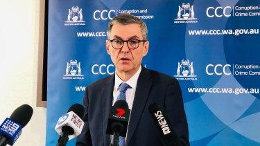 Acting WA corruption commissioner Scott Ellis.