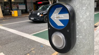 Pedestrian crossings were automated across Brisbane's CBD and inner suburbs in March 2020.