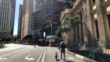 Brisbane's footpaths cost $26 million to repair and maintain annually.