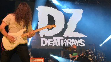 Lachlan Ewbank (left) and Simon Ridley from DZ Deathrays.