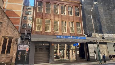 Good Games Pty Limited has leased the Ground Level and Mezzanine Level, 422-424 Kent Street, Sydney