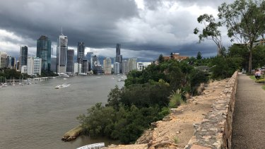 Kangaroo Point Cliffs, in The Gabba Ward, is one of the city's most popular outdoor areas.