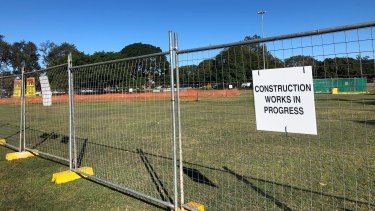 Easts Rugby says Coorparoo Cricket, who share the ground with it, dug up the contaminated oval without full permission.