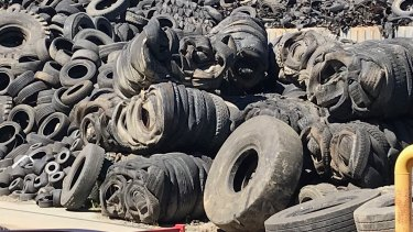 Exports of whole tyres, including baled tyres, will be banned from the end of 2021.