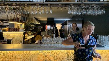 A stop at Los Bravos on the Foodloose Northbridge bar crawl.