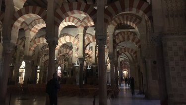 The Cathedral-Mosque of Cordoba, Spain.