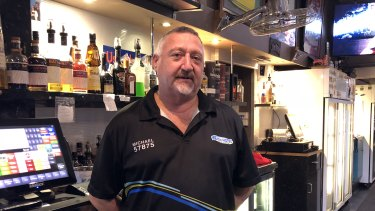 Beach Hotel barman Michael Avery says he is changing his vote at the Braddon byelection.
