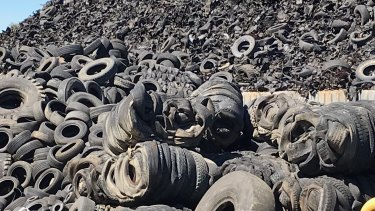 Far from recycling tyres in an environmentally sustainable way, some operators are stockpiling them, with no plan for their future.