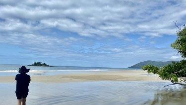 A beach at Cape Tribulation in North Queensland.