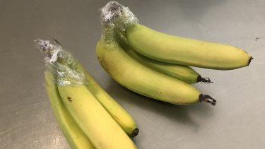 A reader suggests wrapping the stems of bananas in plastic to keep them from ripening too fast.
