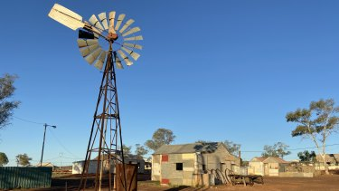 Gwalia, a former gold mining town, is located 233 kilometres north of Kalgoorlie, in WA's Great Victoria Desert.