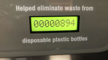 Plastic water bottles are not sold at Queensland's newest university campus at Petrie.