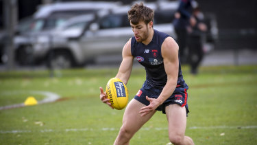 Jack Viney is confident his foot issues are over with.