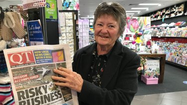 "Long-term Queensland Times reader Maureen Anderson says the decision to close the newspaper is ""shocking""."