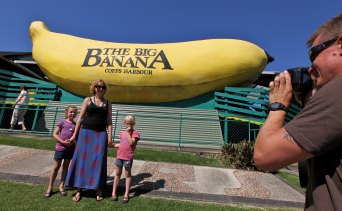 Owners of the Big Banana are planning a major renovation and expansion, and are looking for investors.