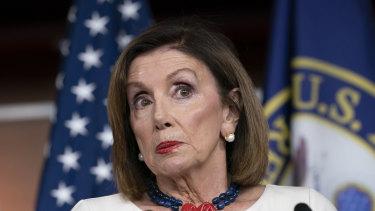 Speaker of the House Nancy Pelosi.