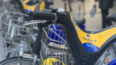 CityCycles are available across inner Brisbane.