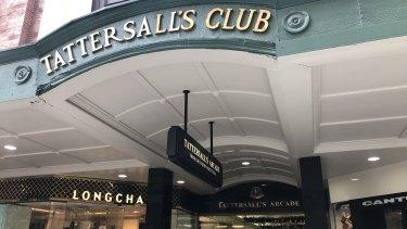The Tattersall's Club in the Brisbane CBD