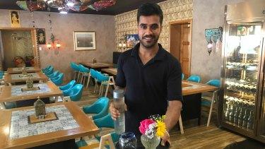 Ice 'n' Spice restaurant manager Gurjant Singh.