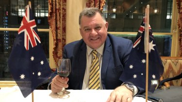 "Craig Kelly told an Australian Monarchist League function that the island of Tuvalu was ""floating, not sinking""."