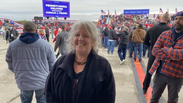 Trump supporter Kathy Kelly is not worried about contracting COVID-19.