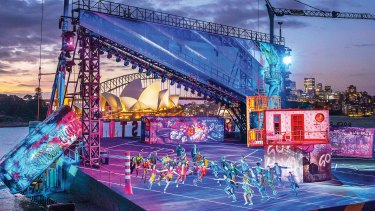 """West Side Story will host a """"relaxed performance"""" at Mrs Macquarie's Point on Wednesday."""
