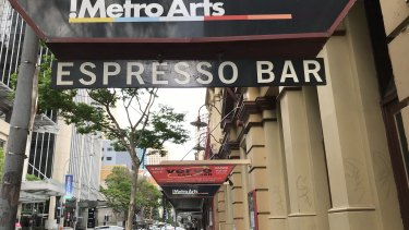 The Metro Arts building in Brisbane's Edward Street, which has been sold for more than $10.5 million.