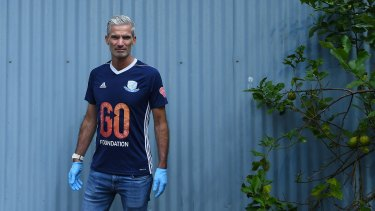 Former Australian footballer and human rights advocate Craig Foster.