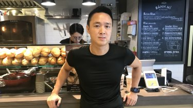 Melbourne expat Ryan Ching, owner of a sandwich chain in Hong Kong.