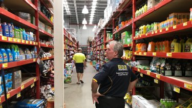 Queensland's Chamber of Commerce and Industry says hardware stores, such as Bunnings in Brisbane's Rocklea, are seeing jobs growth.