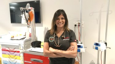 "Shima Ghedia says you need ""plenty of energy and chutzpah"" to work in emergency medicine."